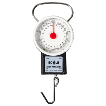 Eagle Claw Dial Scale & Tape Measure 50lb