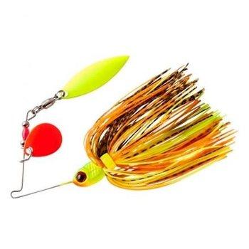 Booyah Pond Magic 3/16oz Spinnerbait. Fire Bug