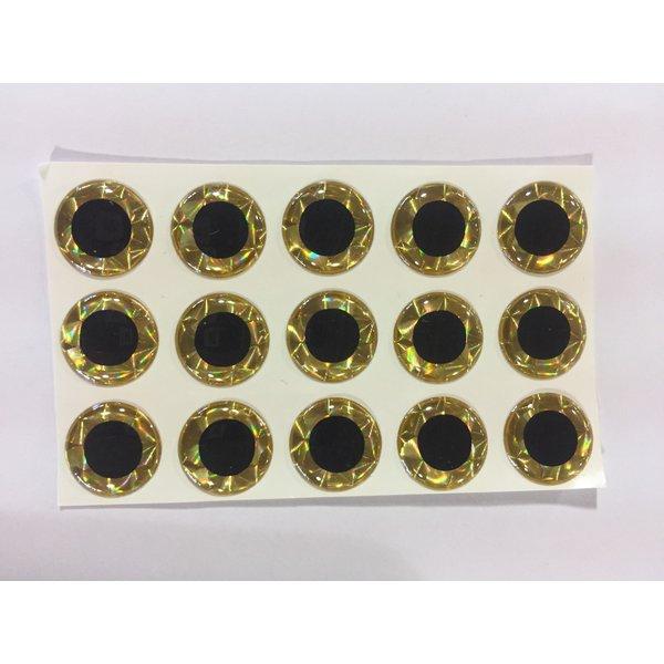 """3-D Eye Gold Prism 7/32"""""""