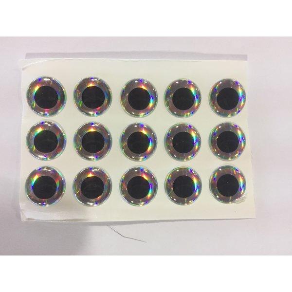 """3-D Eye Silver Prism 5/32"""""""