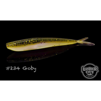 "Lunker City Fin-S Fish 4"" Goby 10-pk"