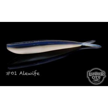 "Lunker City Fin-S Fish 4"" Alewife 10-pk"