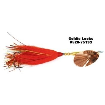 Joe Bucher Tin Bucktail #7 Goldie Locks