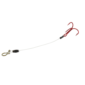 "Northland Sting'R Hook. 3"" Red 12-pk"