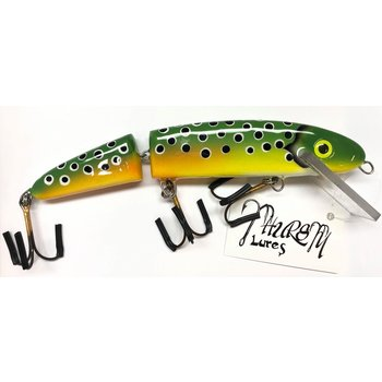 "Thursty Lures 9"" Jointed Clean Frog"