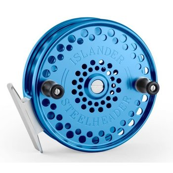 Islander Steelheader Float Reel, Blue