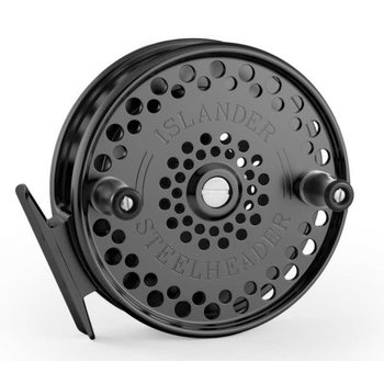 Islander Steelheader Float Reel, Black.