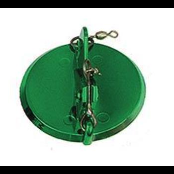 Luhr Jensen Dipsy Diver, Size 1 Metallic Green/Green Bottom