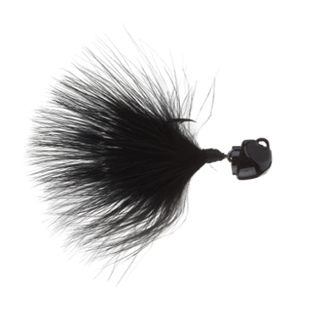 Freedom Marabou 1/8oz Swing Jig. Black