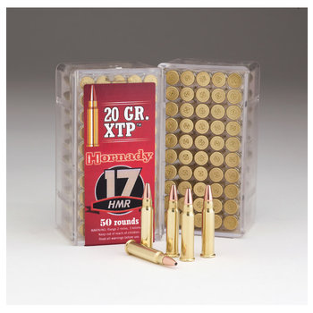 Hornady Varmint Express Ammo 17 HMR 20gr XTP Jacketed Hollow Point 50 Rounds