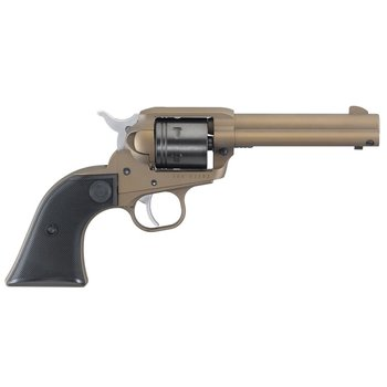 "Ruger Wrangler 22 LR Single Action Revolver 4.62"" Barrel Bronze Cerakote #2004"
