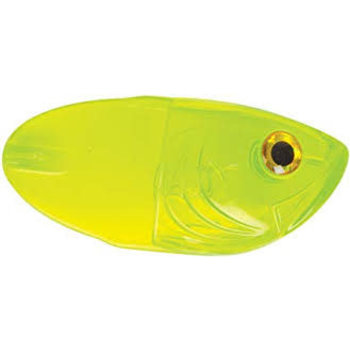 Luhr Jensen Luhr Jensen Whole Bait HeadBlack Candy Chartreuse UV
