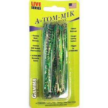 A-Tom-Mik Tournament 4-pk Green Crinkle U202