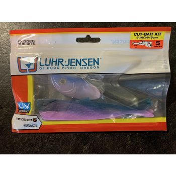 Luhr Jensen Cut-Bait Kit Pre-Rigged Rainbow