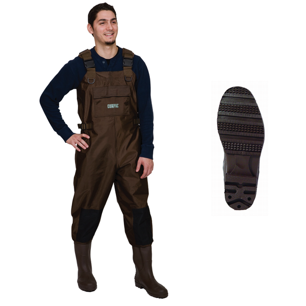 Compac Nylon/PVC Chest Wader. Size 12