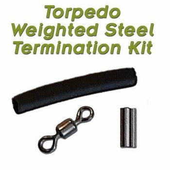 Torpedo Weighted Steel Termination Kit 10-pk
