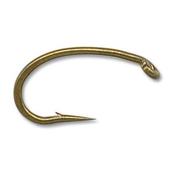 Mustad CO68 Size 10 Caddis Offset 25-pk