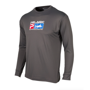 Pelagic Aquatek Performance Shirt Charcoal L
