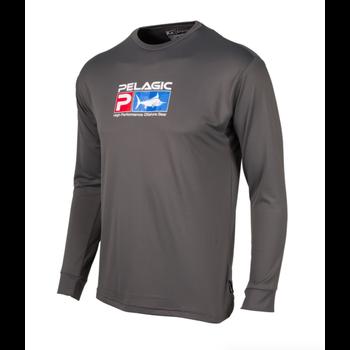 Pelagic Aquatek Performance Shirt Charcoal XXL