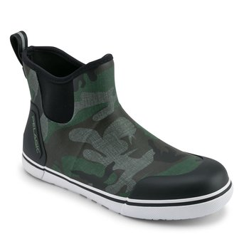 "Pelagic Pursuit 6"" Ankle Deckboot Fish Camo Green M11"