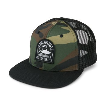Pelagic Club Slayer Snapback Hat Green Camo