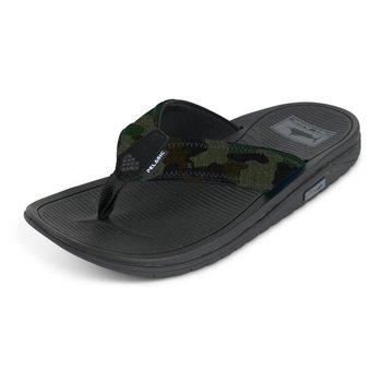 Pelagic Offshore Fish Camo Sandals Size 13