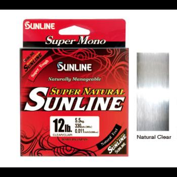Sunline Super Natural 6lb Clear Mono 330yds