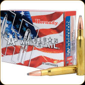 Hornady Hornady American Whitetail, 30-06 Springfield, 150 Gr Interlock SP
