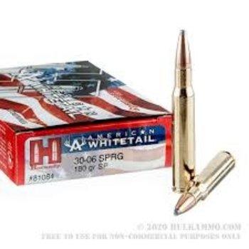 Hornady Hornady 81084 American Whitetail Rifle Ammo 30-06 SPRG 180Gr