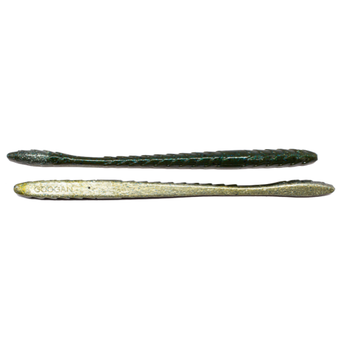 "Googan Baits Googan Baits Slim Shake Worm 6.5"" Natural"