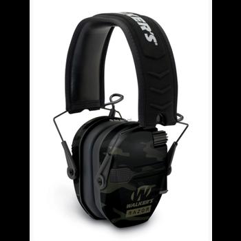 Walker's GWP-RSEM-MCCG Razor Slim Electronic Muff-Multicam Camo - Grey