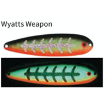 """Moonshine Lures 5"""" Magnum Spoon Wyatts Weapon"""