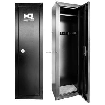 "HQ Outfitters 14 Gun Steel Cabinet (HQ-GC14) 53""x17""x13.5"", Key Lock"