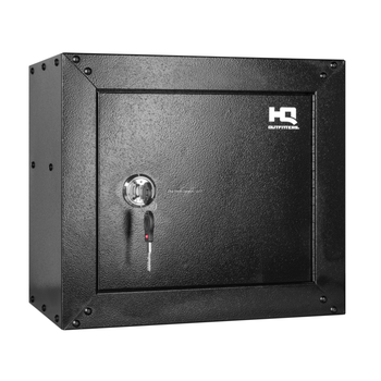 "HQ Outfitters Ammo & Pistol Steel Cabinet (HQ-GC-AM) 15""x17""x10"", Key Lock"