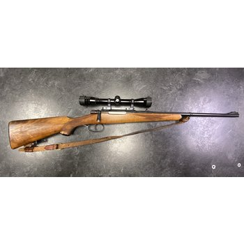 BRNO 8mm Mauser Bolt Action Rifle w/Redfield 4X Scope