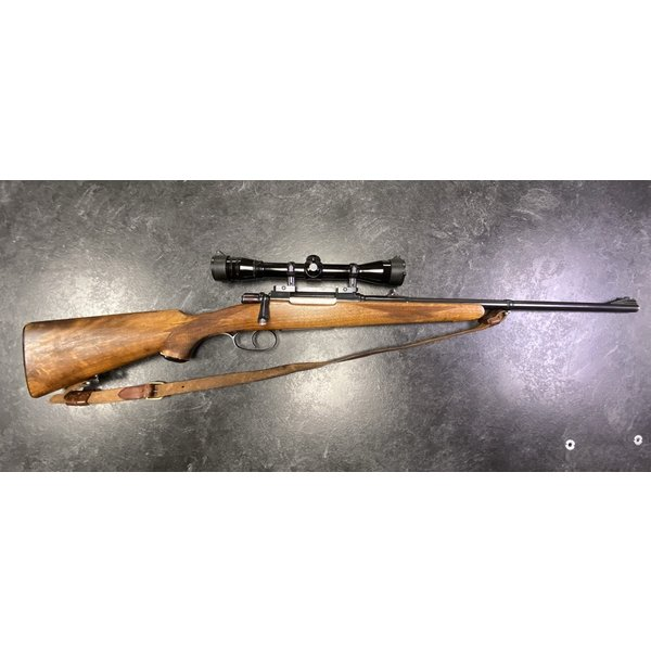 BRNO 8mm Mauser Bolt Action w/Redfield 4X Scope