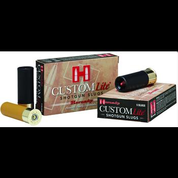 Hornady 86233 Custom Lite Shotgun Slugs 20 GA, 2-3/4 in, 37/64oz, 1600 fps, 5 Rnd per Box