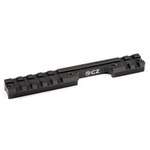 CZ 1070-9057 Weaver Rail for 457 Rifle, Black