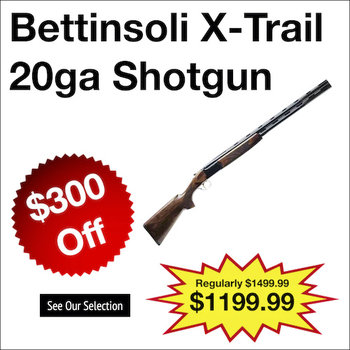 Bettinsoli X-Trail 20ga Shotgun