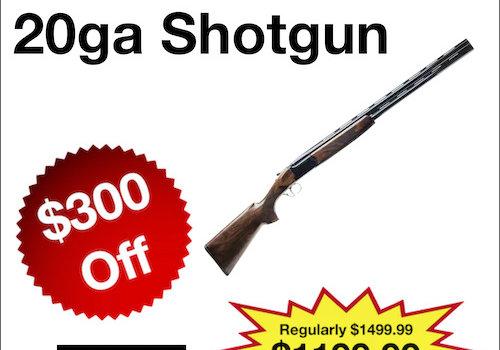 Bettinsoli X-Trail 20ga Shotgun