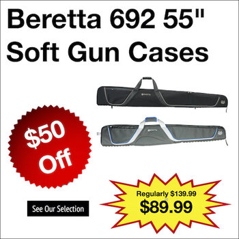 "Beretta 692 55"" Soft Gun Cases"