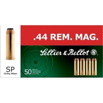 Sellier & Bellot .44 Magnum 240grs SP Ammunition 50 Rounds
