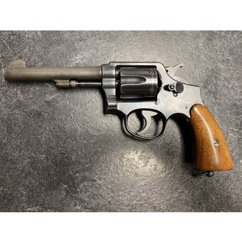 """Smith & Wesson Hand Ejector 38 Special 5"""" BBL Revolver"""