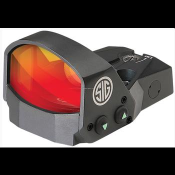 Sig Sauer SOR11000 Romeo1 Reflex Sight, 1X30MM, 3 MOA Red Dot, 1.0 MOA Adj, Black