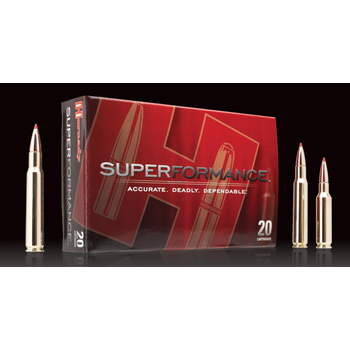 Hornady 81490 Superformance Rifle Ammo 6.5 CREED, GMX, 120 Grains, 3010 fps, 20, Boxed