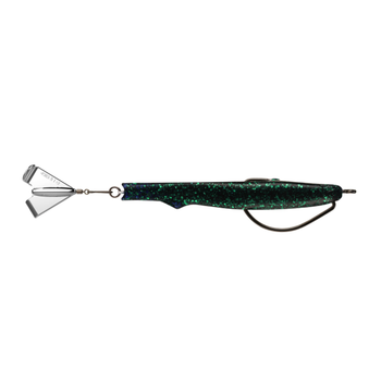 """13 Fishing Motor Boat Hybrid Prop Bait. Witches Brew 4-1/4"""" 1/2oz 5/0"""
