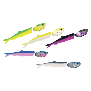 Luhr Jensen Cut-Bait Kit Pre-Rigged Assorted Colors