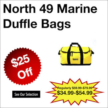 North 49 Marine Duffle Bags