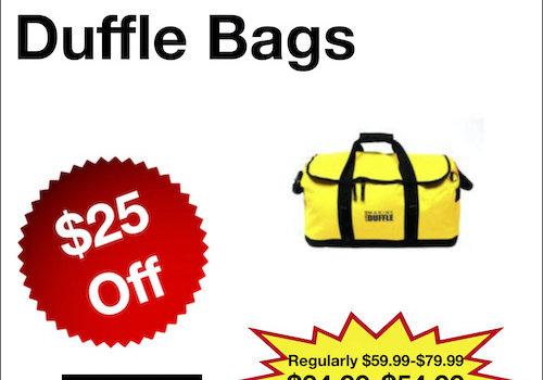 North 49 Marine Duffle Bags