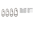 Spro Prime Snap Mini Size 1 15lb 6-pk